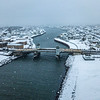 Snow Over Shark River Inlet 2/20/19