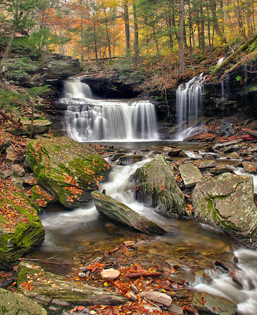 Waterfall Ricketts Glen State Park, PA