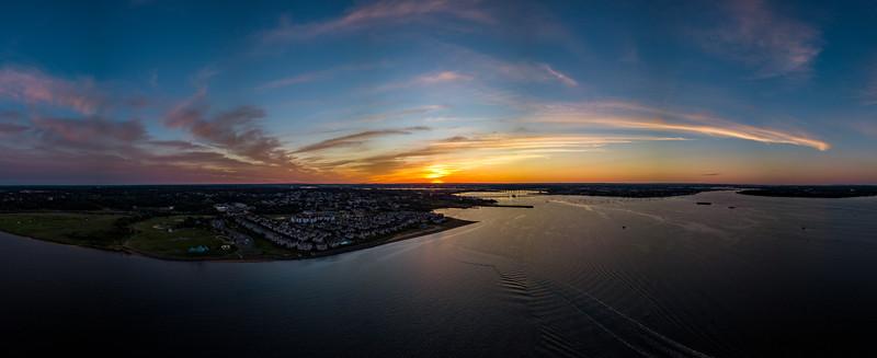 Raritan Bay Sunset 6/25/18