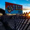 Sunrise Over Closed Sign To Asbury Park 5/5/20