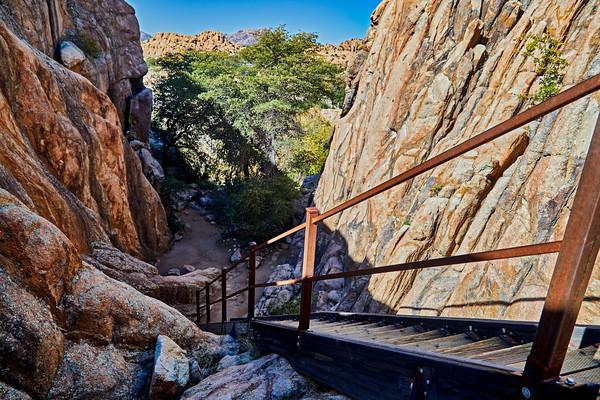Stairway in the Boulders