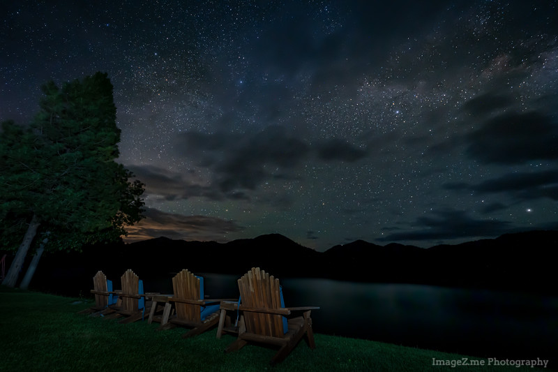 Midnight at Applegate Lake