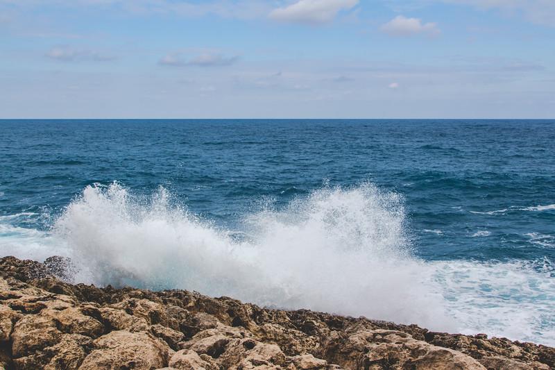 Ponta ta' l-Aħrax - an der Nordost-Spitze Maltas