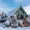 Snowy St. Catherine's Chapel 3/22/18