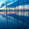 Predawn Reflection Over Manasquan Reservoir 3/3/19