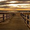 Sunrise Over Beach Pathway, Ocean Grove 3/22/20
