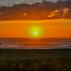 Sunrise Over Beach, Ocean Grove, NJ