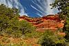 Red Rock Mountain Cliffside in Sedona Arizona