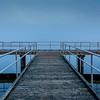 Foggy Morning at Manasquan Reservoir Pier 11/2/17