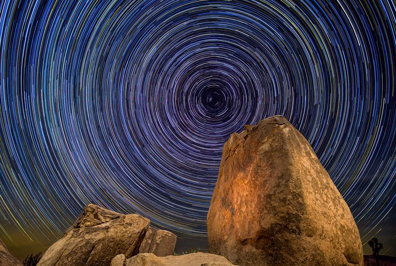Joshua Tree Star Trails