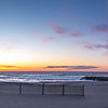 Panoramic Sunrise over Asbury Park Beach 4/9/16