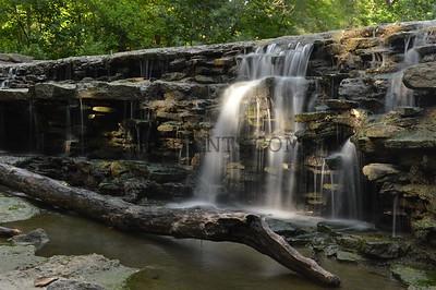 Small Woodland Waterfall