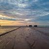 Sunrise Over Ocean Grove Boardwalk & Pier 8/21/21