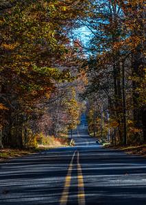 Autumn Colors Along Winding Road 11/4/18