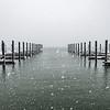 A Snowy Scene At Belmar Marina 2/7/21