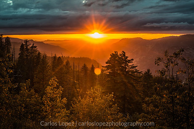 Yosemite Sunset, 2