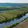 Vineyards Along a River in Germany 4/20/17