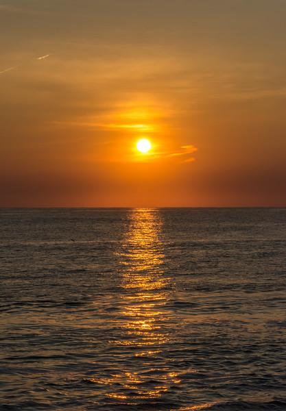 Sunrise Colors Over Atlantic Ocean 7/14/18