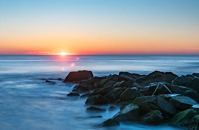 Ocean Grove Jetty Sunrise 11/25/17