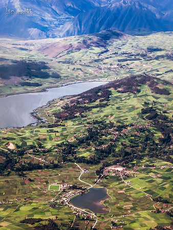 Cusco From The Air 1