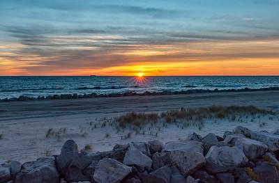 Sandy Hook Sunrise 11/4/17