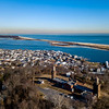 Twin Lights Lighthouse Overlooking Sandy Hook 1/26/18