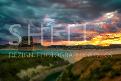 Camper's Delight - Lone Rock, Utah