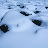 Snow-Covered Rocks, Howell, NJ