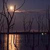 Super Moon Reflection on Manasquan Reservoir, Howell, NJ
