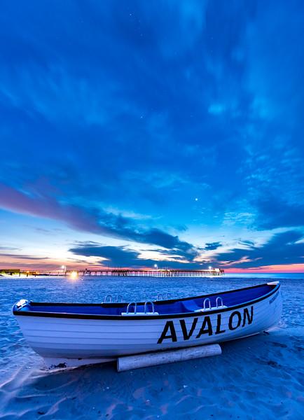 Predawn Colors Over Avalon Beach 8/6/17