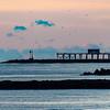 Predawn Over Belmar Pier and Shark River Inlet 10/18/18