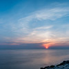 Sunrise Panorama on Shark River Inlet 5/26/16