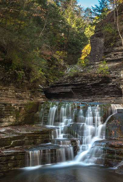 A Waterfall in Treman State Park, NY 10/16/17