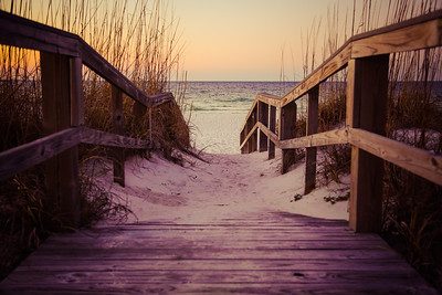 Joshua D Weiss Fine Art Photography of Bridge to the Beach in Pensacola Beach Florida