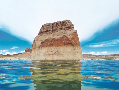 Reflection - Lone Rock, Utah