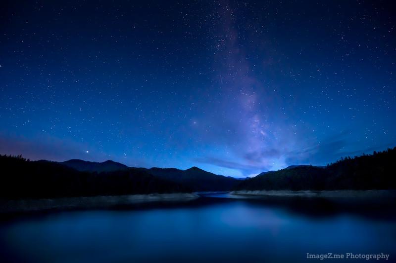 Midnight at Applegate Lake