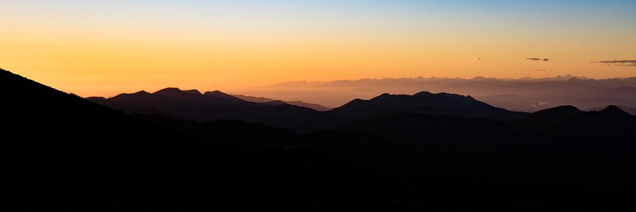 Mt. Baker Base Camp Sunset