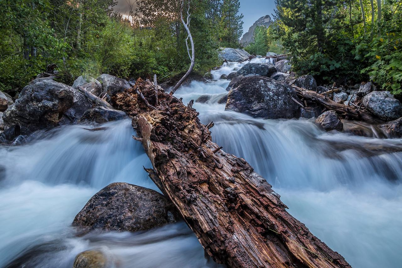 Grand Teton Waterfall
