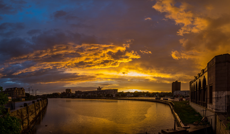Sunset Over Asbury Park 6/5/16