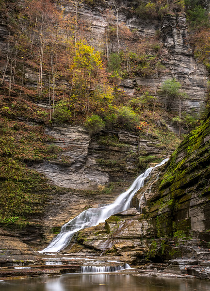 Lucifer Falls in Treman State Park, NY 10/16/17