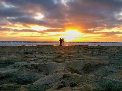 Lone Surfer | San Diego, CA
