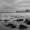 Rough Seas at Belmar Pier 3/3/18