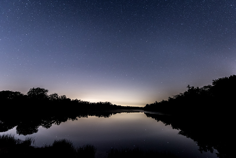 The Big Dipper Reflecting in Lake 7/31/17