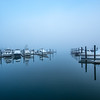 Foggy Marina, Belmar, NJ