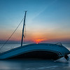 Sunrise Over Abandon Sailboat 7/14/19