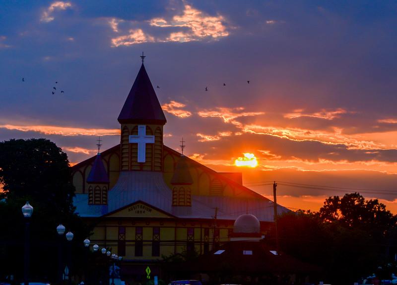 Sunset Over Great Auditorium, Ocean Grove, NJ