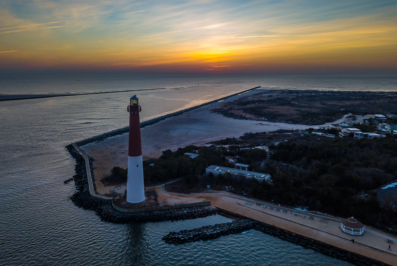Predawn Colors Over Barnegat Lighthouse 1/21/18