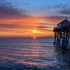 Sunrise Over Pier, Belmar, NJ