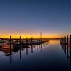 Sunset Over Marina, Belmar, NJ