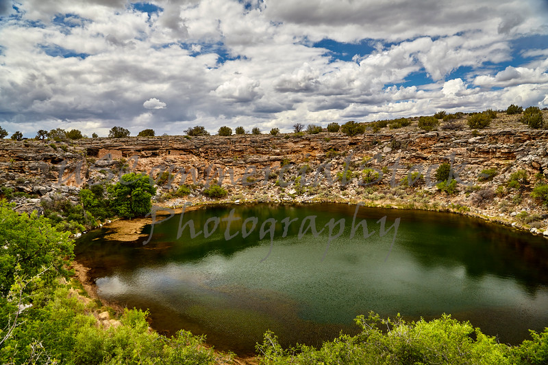 Montezuma's Well Camp Verde  Arizona